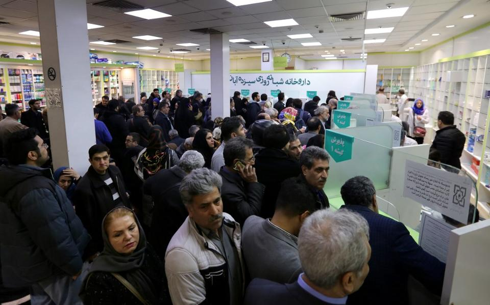 Iran's coronavirus death toll rises to 1,556 as cases soar