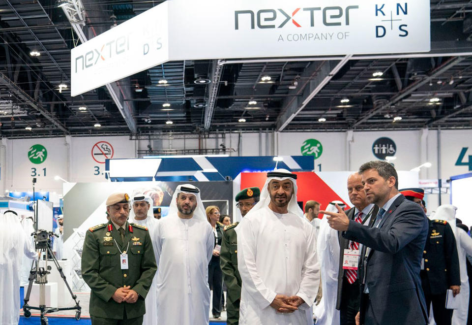 In pictures: Crown Prince of Abu Dhabi tours UMEX and SimTEX