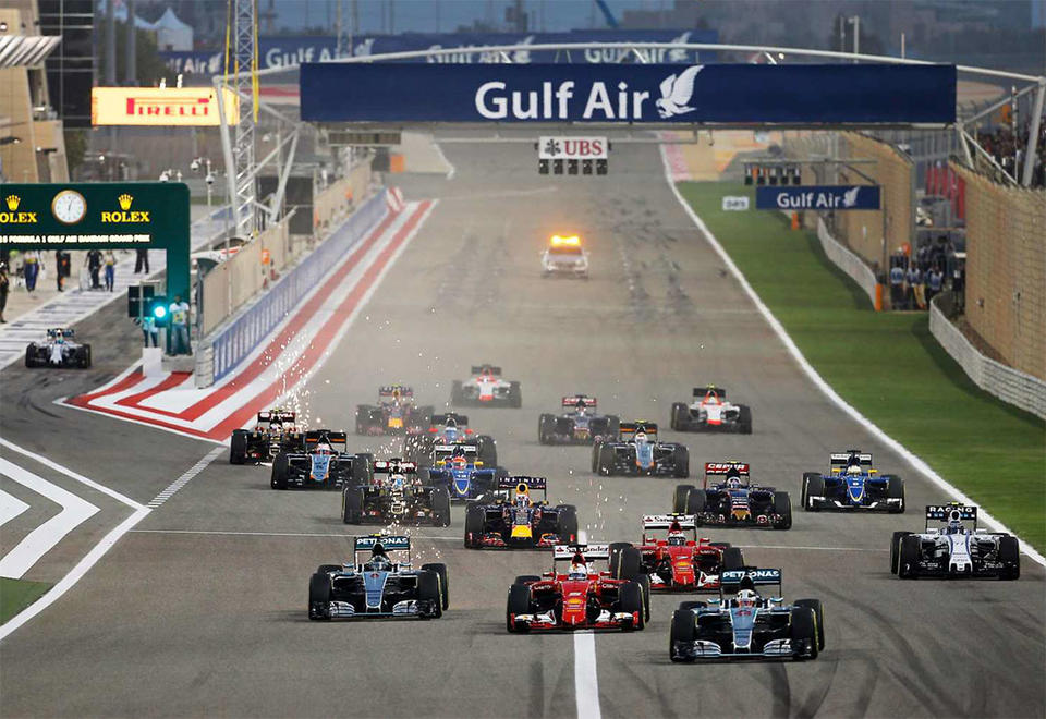 Acts from Italy, Spain and Germany lined up for Gulf Air Bahrain F1 Grand Prix
