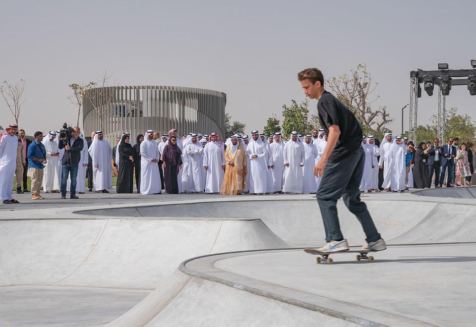 In pictures: Sharjah ruler inaugurates Zaha Hadid Architects-designed Madar complex at Aljada