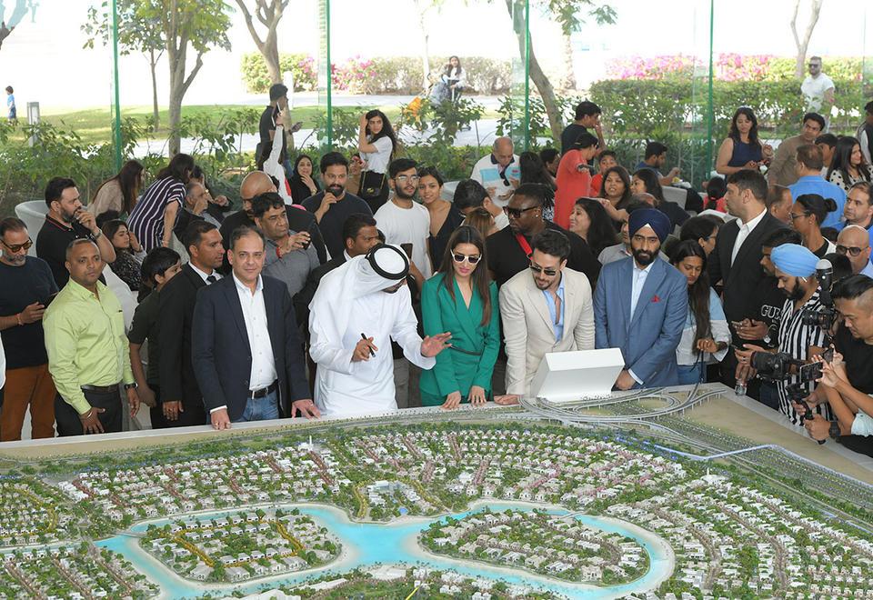 Mohammed Bin Rashid Al Maktoum City, District One hosts a 'meet and greet' with stars of Baaghi 3
