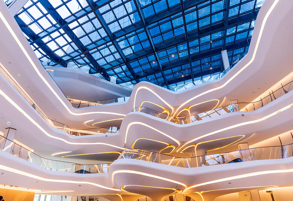 In pictures: Look inside Zaha Hadid-designed The Opus's ME Dubai