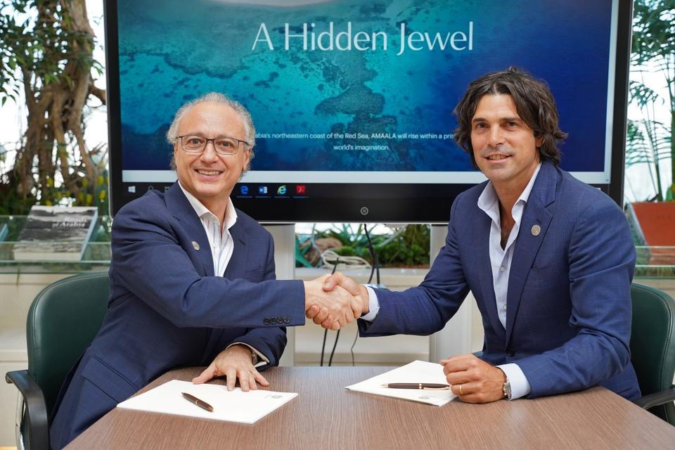 Amaala in Saudi Arabia announces Nacho Figueras as brand ambassador
