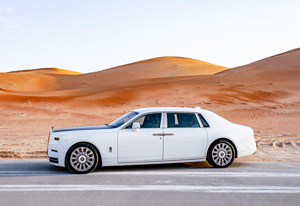In pictures: Abu Dhabi Motors presented the unique Rolls-Royce Phantom Tranquility