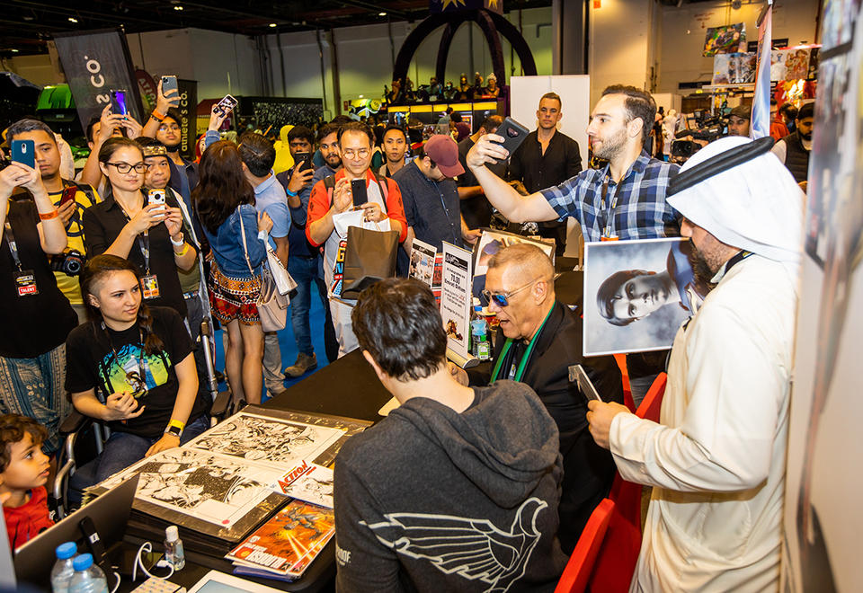 In pictures: Middle East Comic Con in Dubai