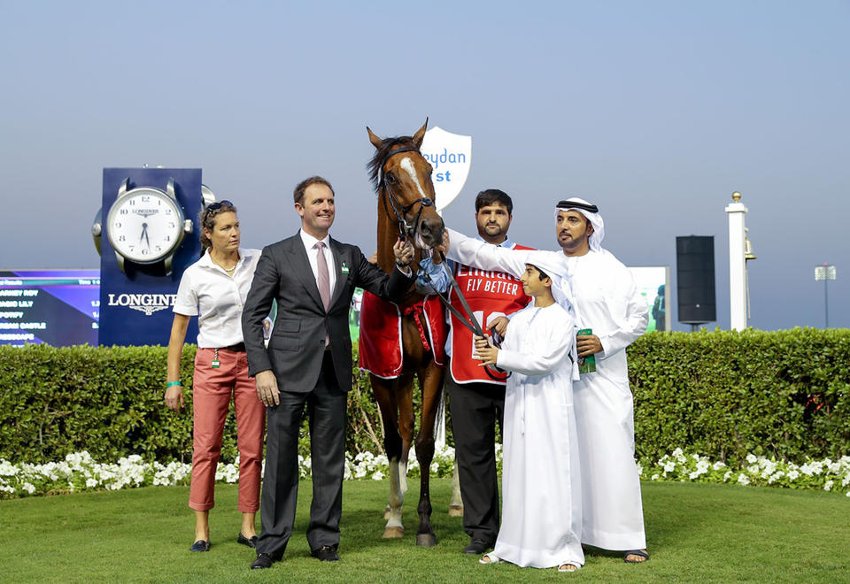 In pictures: Sheikh Mohammed attends Super Saturday races at Meydan