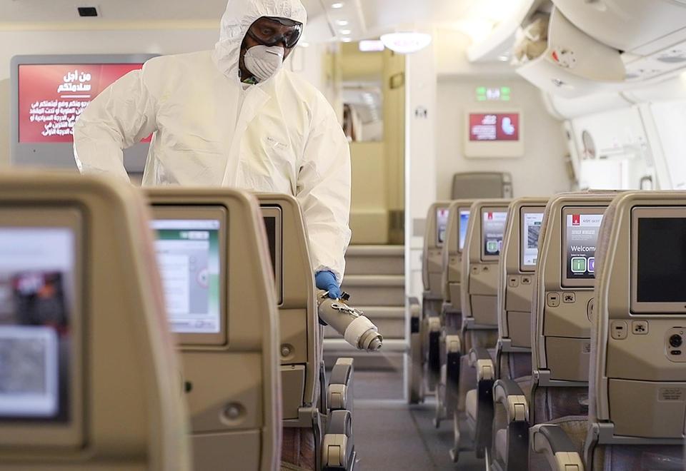 In pictures: Emirates flights departing Dubai undergo enhanced cleaning
