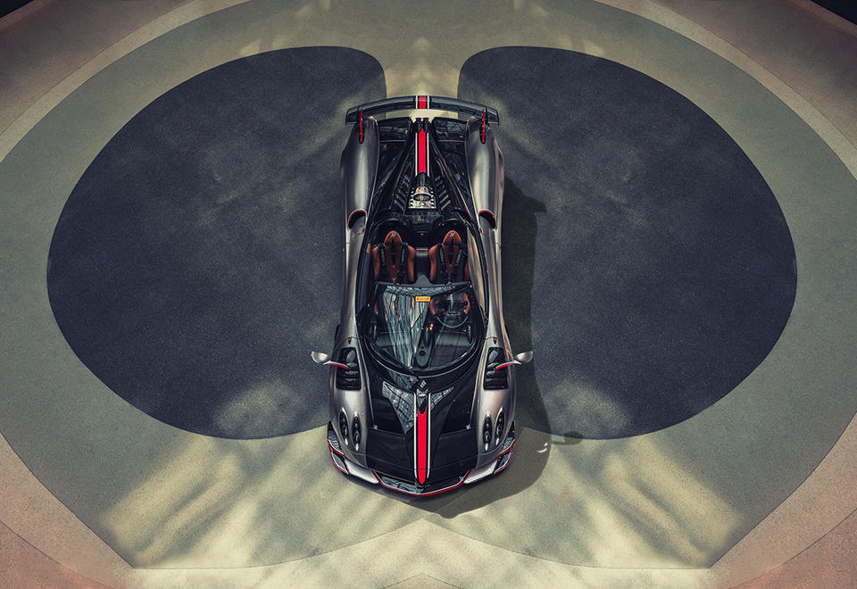 In pictures: A look inside Pagani Automobili's new showroom in Dubai