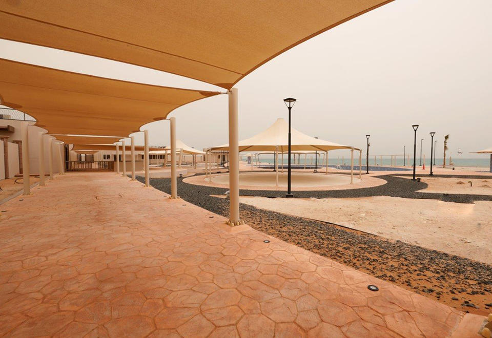 In pictures: Abu Dhabi's women-only beach project completed in Al Dhafra region