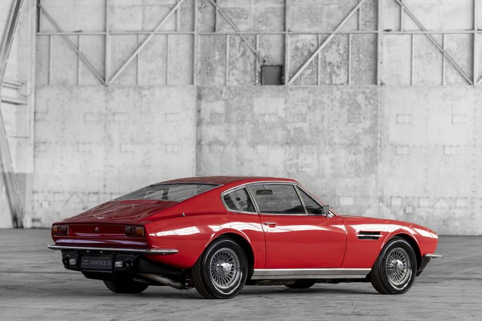 In pictures: Aston Martin celebrates 70 years of Vantage sports cars