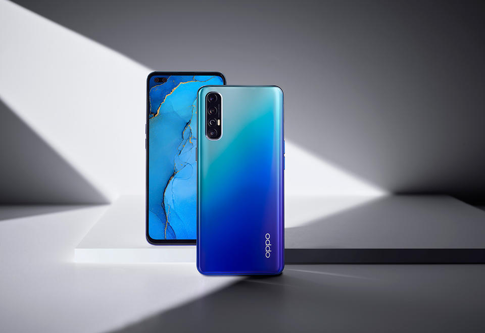 OPPO Reno3 Pro: This super-lightweight smartphone offers ultra-clear photos and videos in any setting - day or night