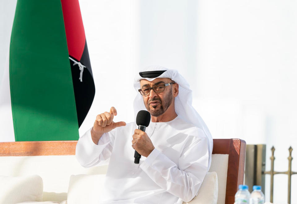 In pictures: Sheikh Mohamed bin Zayed reviews UAE's Covid-19 response
