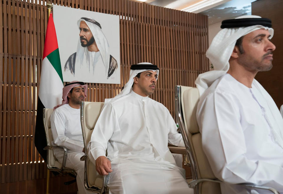 In pictures: Crown Prince of Abu Dhabi briefed by Covid-19 working group via video conference