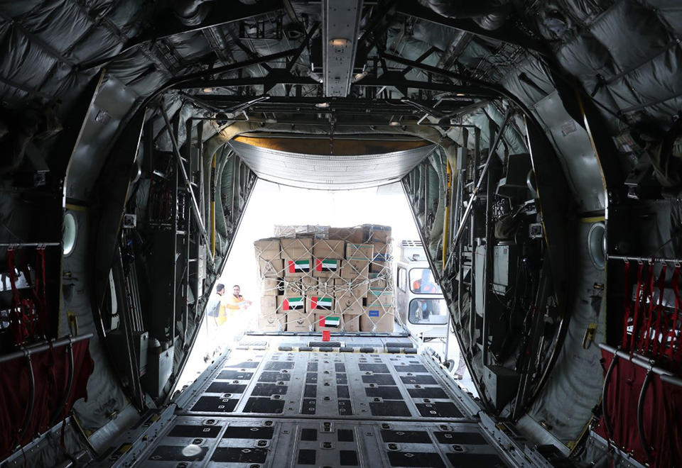 In pictures: UAE sends second batch of medical aid to Iran