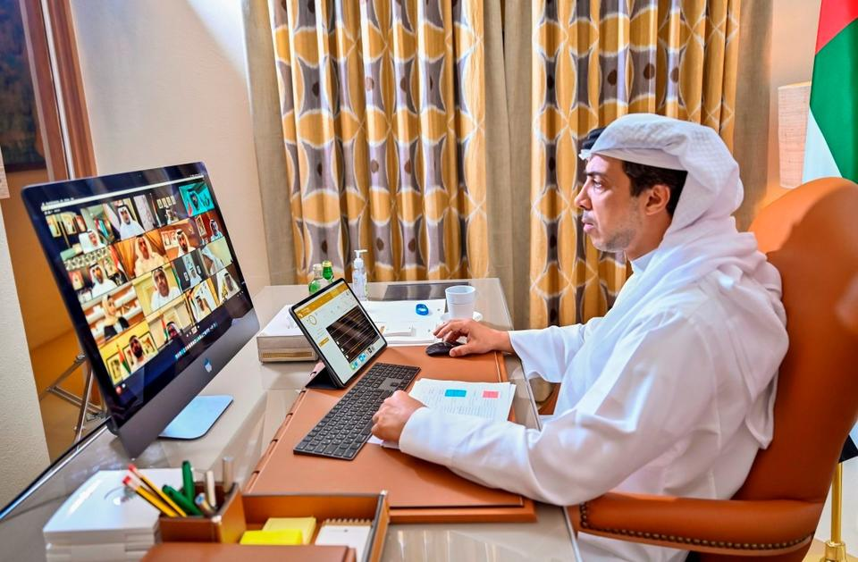 In pictures: Dubai ruler chairs the first remote cabinet meeting