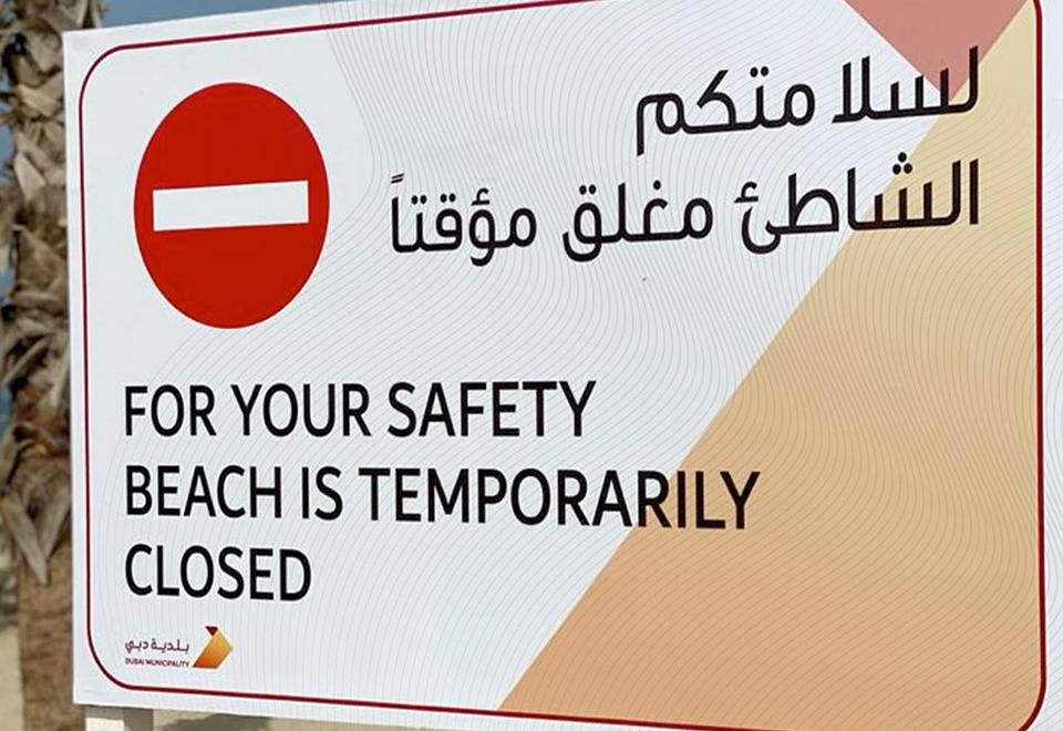 Dubai Police arrest European expat for breaking coronavirus restrictions