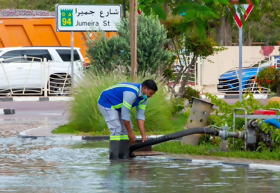 In pictures: Heavy rain hits Dubai and Abu Dhabi