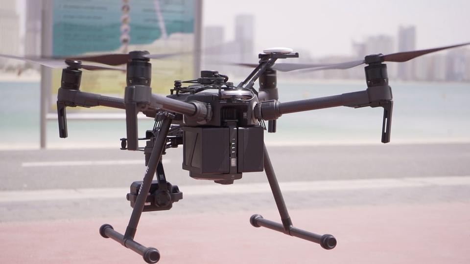 Dubai Police using drones to keep public spaces ban enforced