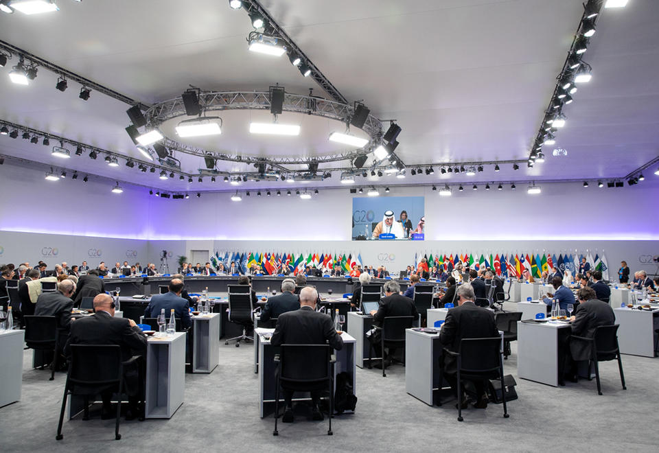 Saudi hosts G20 talks on virus recovery, debt crisis