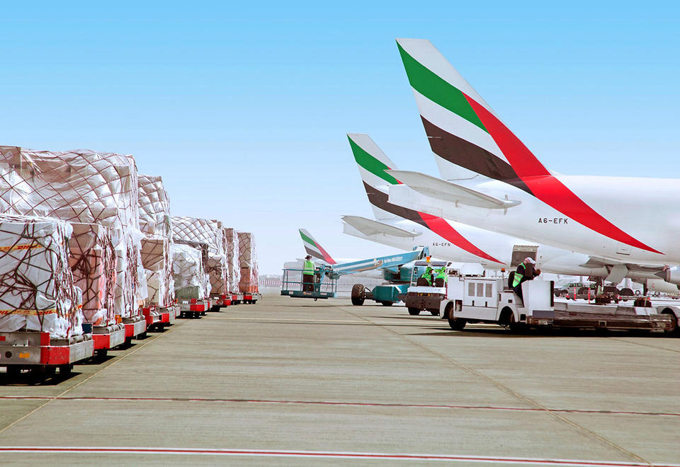 Emirates SkyCargo imports 34,000 tonnes of food