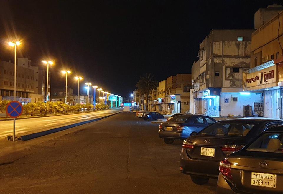 In pictures: Silence across Saudi Arabia as 'dusk-to-dawn' coronavirus curfew