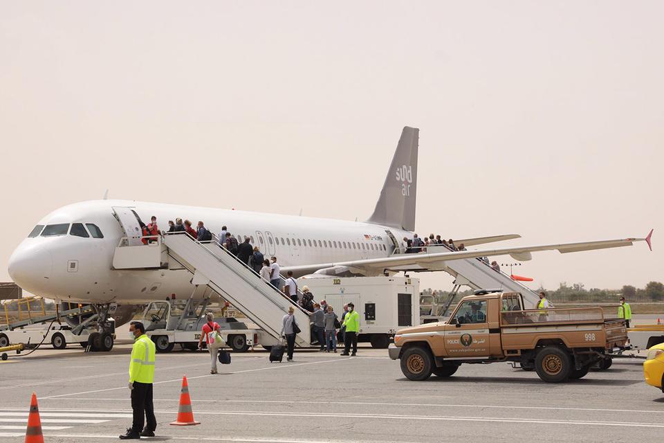 Hundreds of tourists repatriated from RAK International Airport