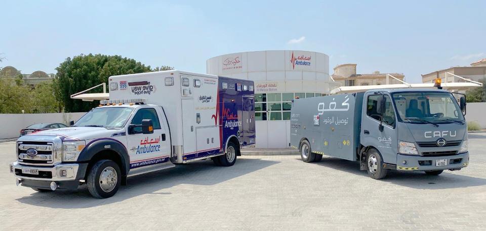 Coronavirus: Cafu to deliver free fuel to Dubai's ambulance fleet