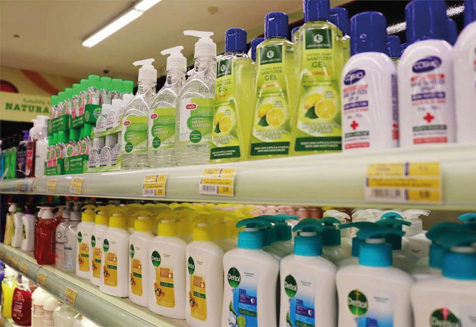 Dubai withdraws six types of sanitisers from store shelves amid Covid-19