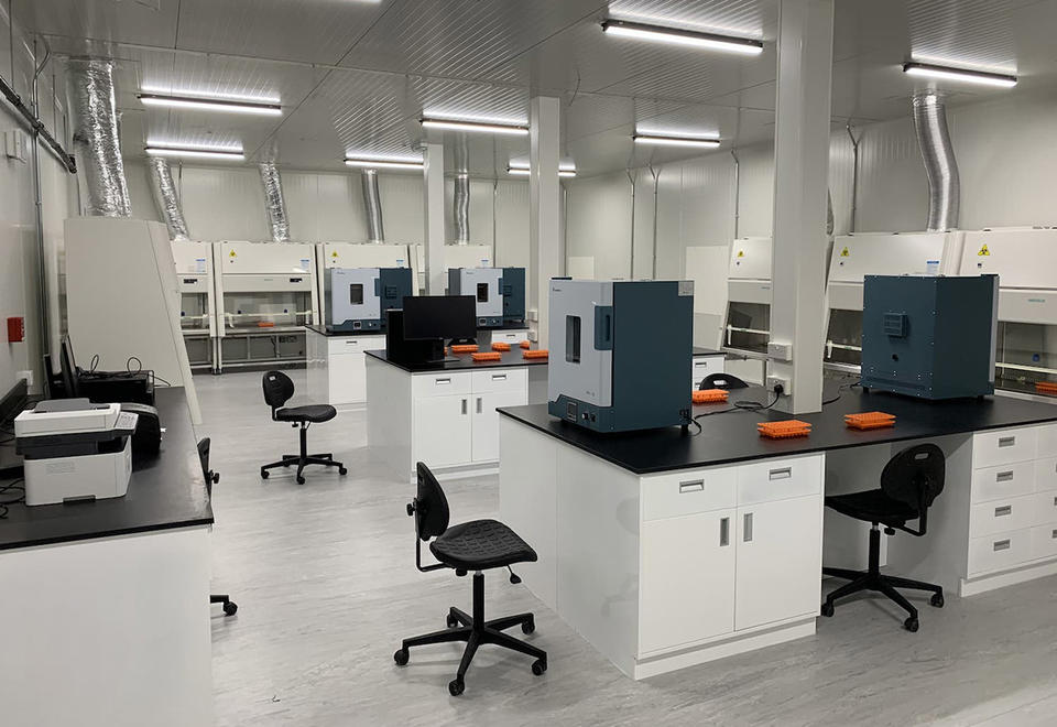 Laboratory capable of conducting thousands of daily Covid-19 tests launches in Abu Dhabi