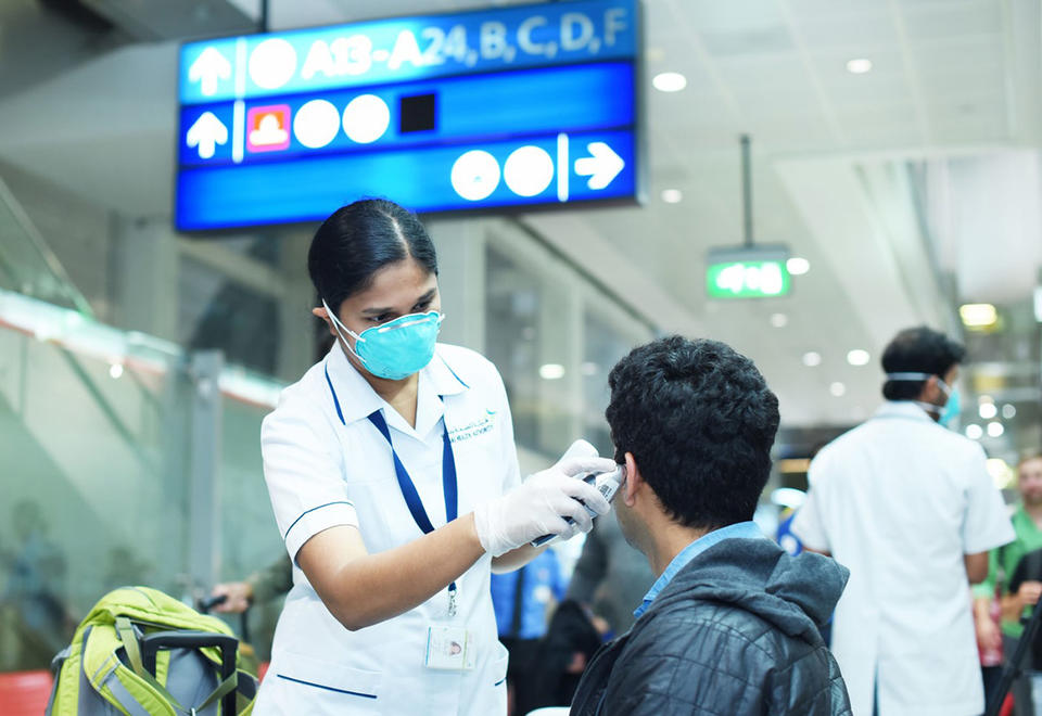 Covid-19 tests at Dubai airport only required for those with symptoms, documents show