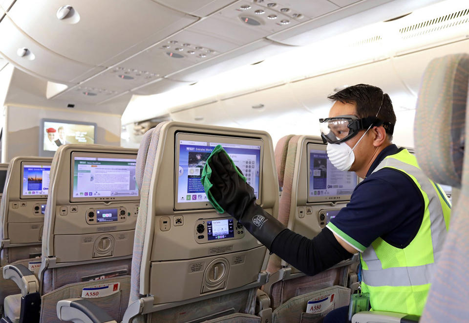 Emirates airline, Etihad Airways resume flights with passenger warning