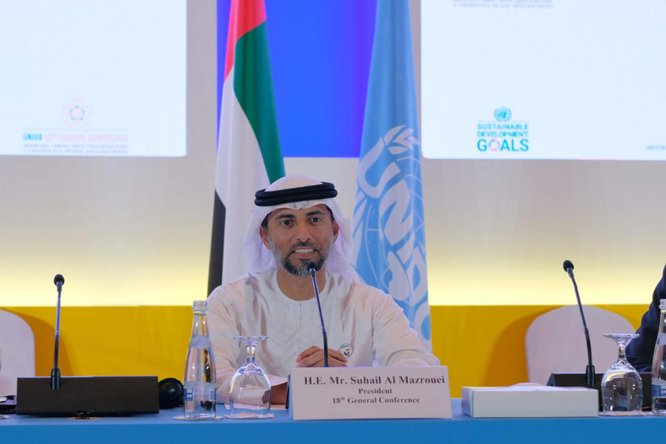 OPEC+ output cut decision will help balance oil market, says UAE energy minister