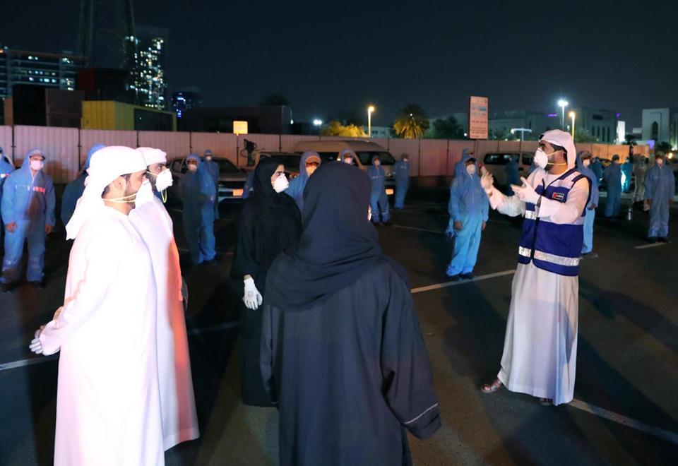 Over 8,000 volunteers sign-up in UAE to fight coronavirus pandemic