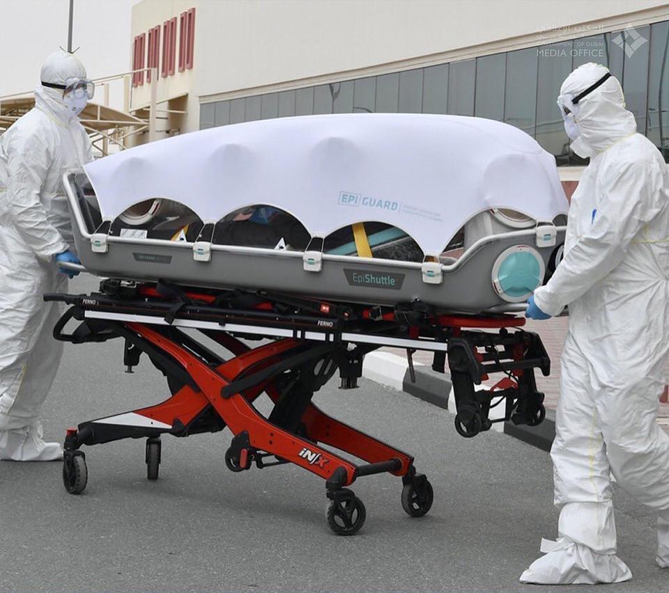 In pictures: Dubai's paramedics use EpiShuttle single-patient isolation pods