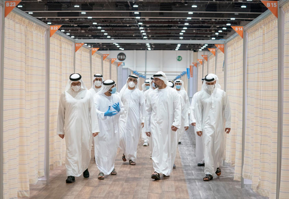 In pictures: Three more field hospitals launched by SEHA in Dubai and Abu Dhabi