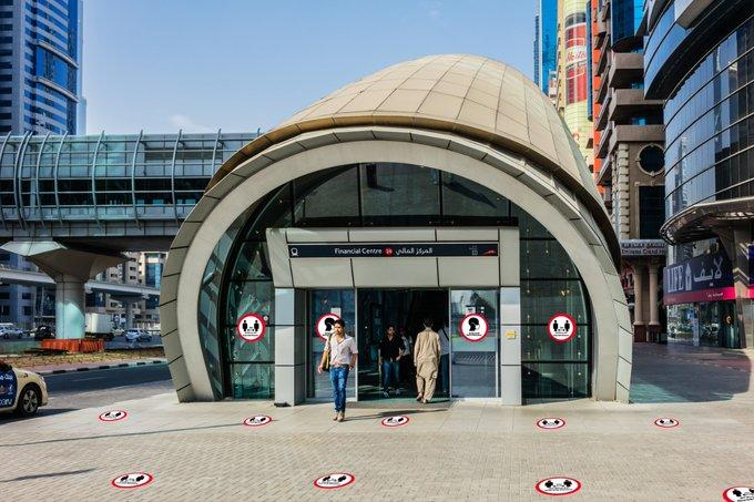 Dubai to roll out social distancing, warning signs on public transport