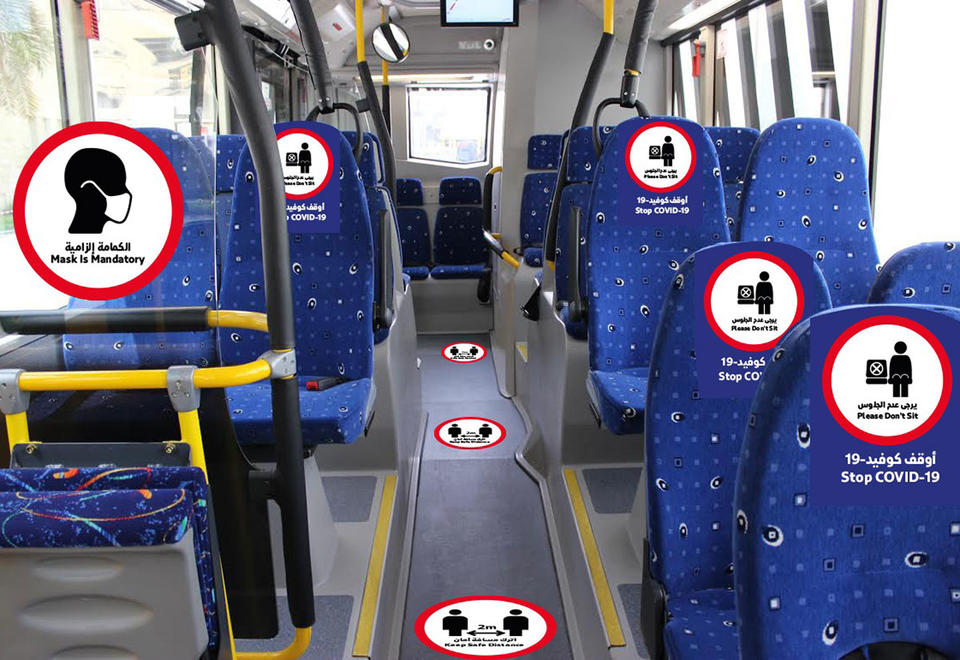 In pictures: New safety and etiquette signage in Dubai public transport