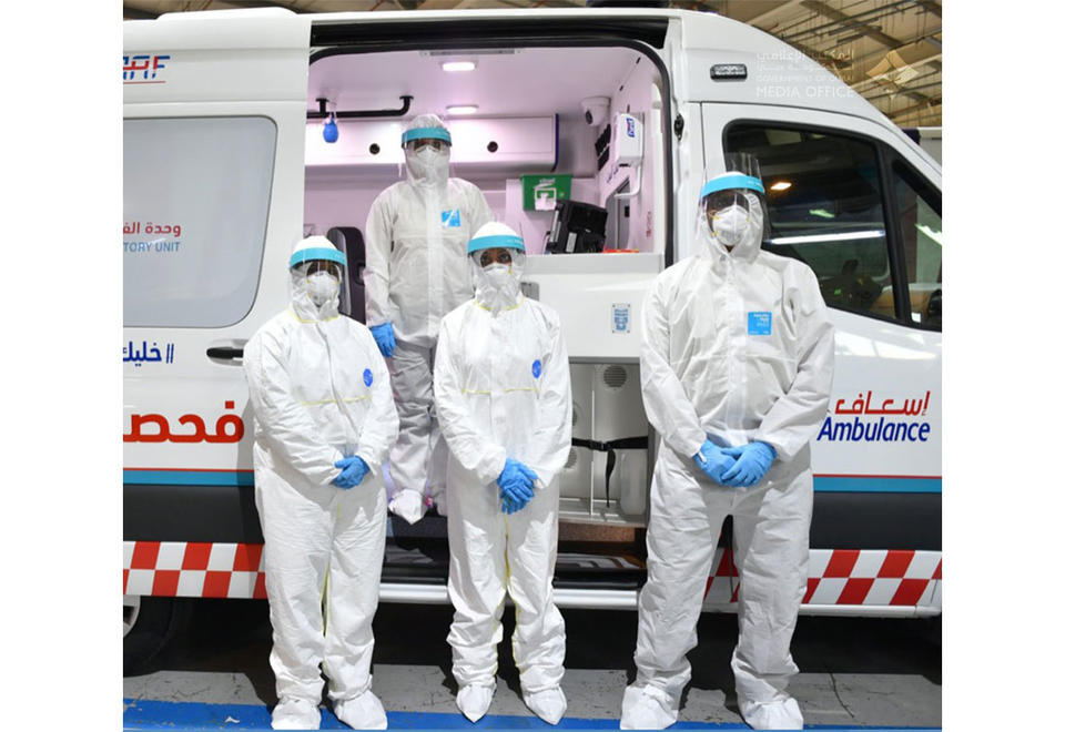 In pictures: Dubai unveils mobile laboratory unit to conduct Covid-19 tests