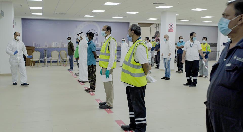 Covid-19 testing facilities installed at Abu Dhabi ports