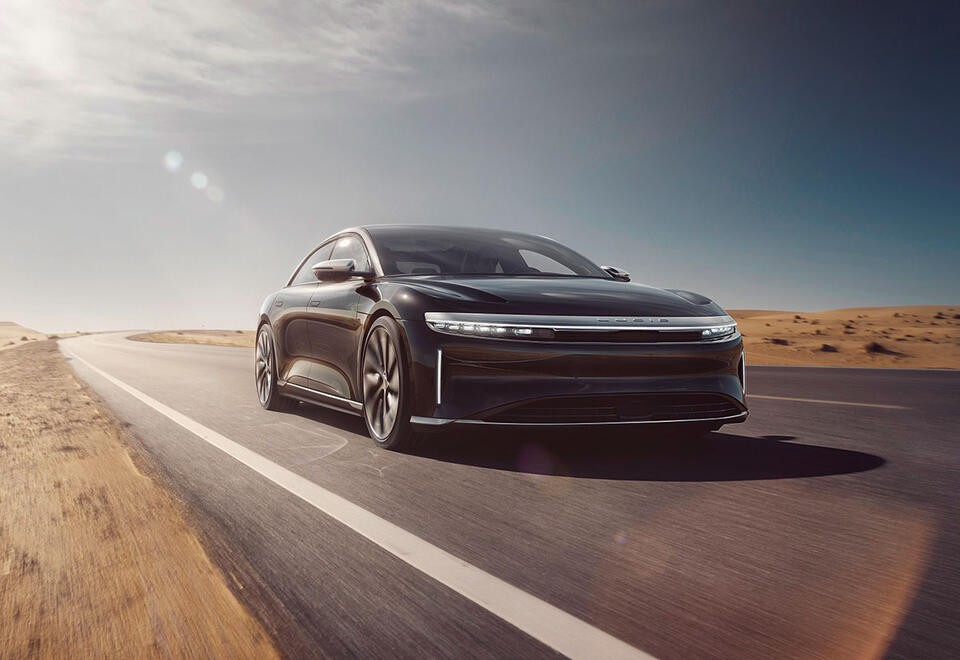 Saudi-backed Lucid Motors on schedule to deliver in 2021