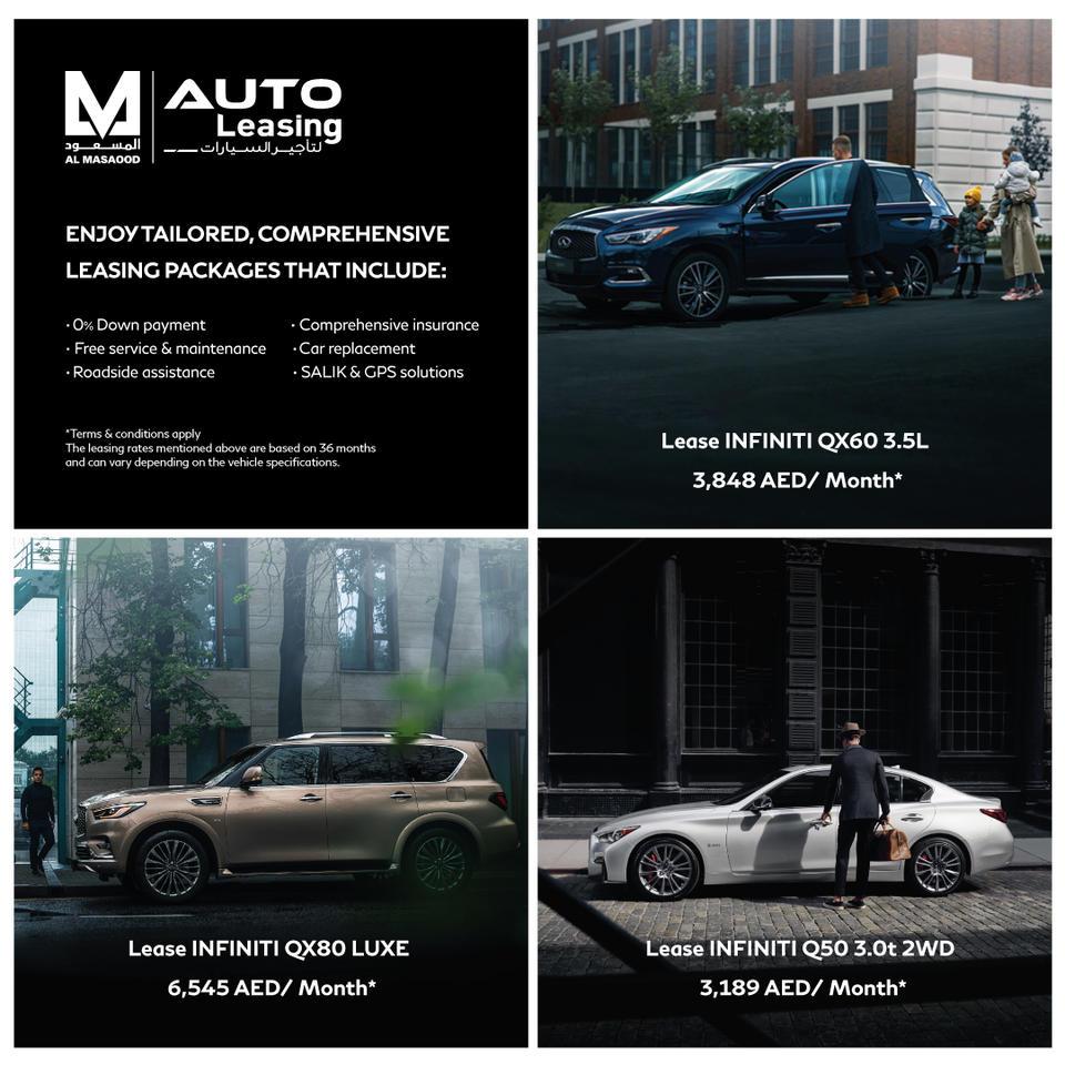 Al Masaood Automobiles introduces new auto leasing solutions