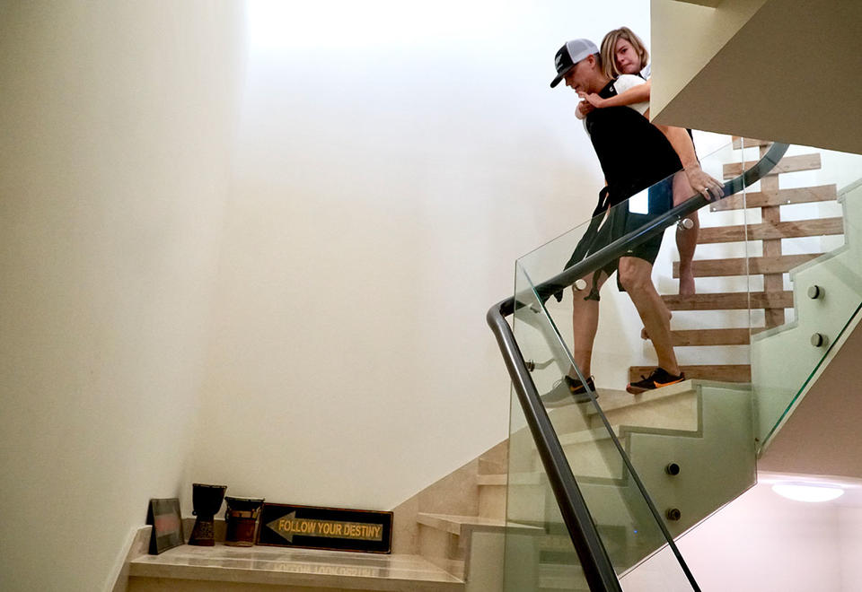 In pictures: Dubai dad to climb the height of Burj Khalifa with son on his back
