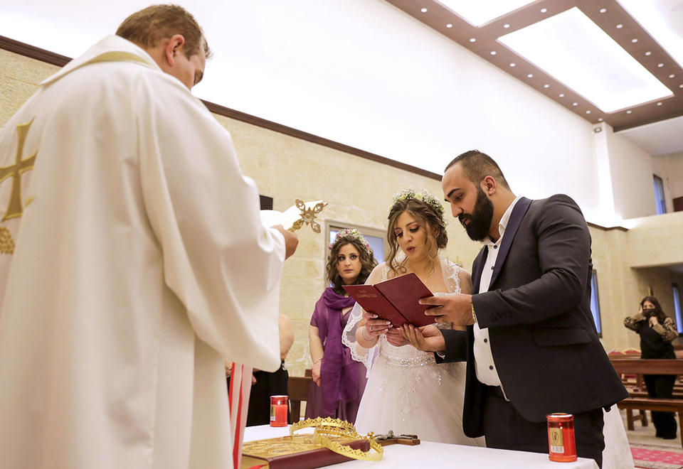 Lebanese weddings: Tying the knot in the age of Covid-19