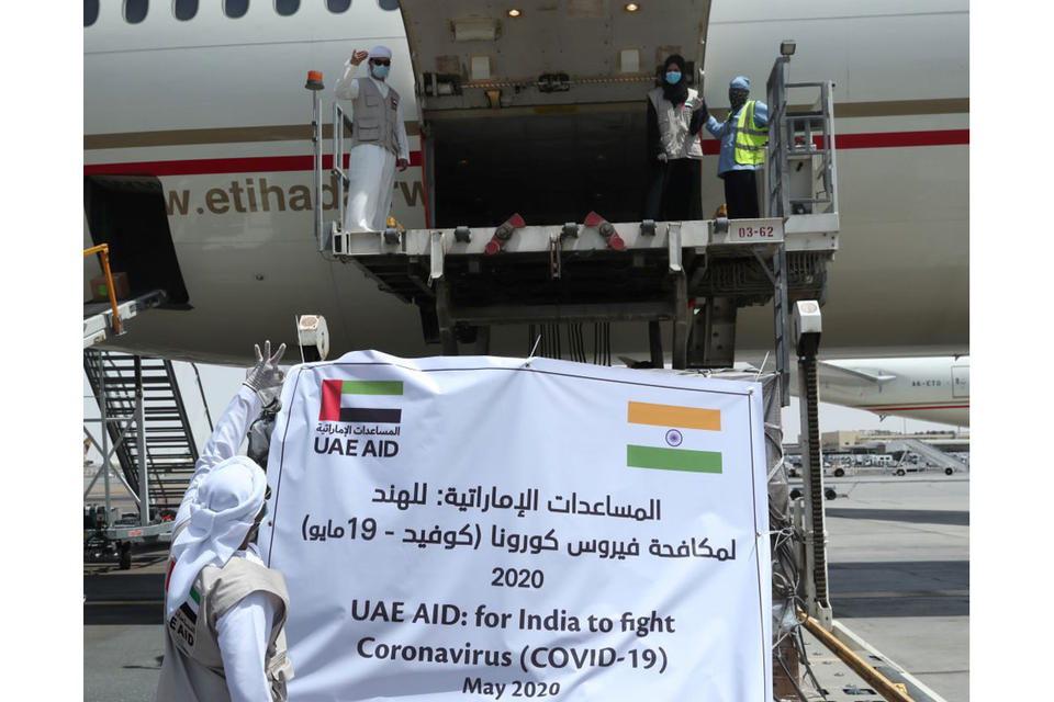 In pictures: UAE sends medical supplies to India to fight Covid-19