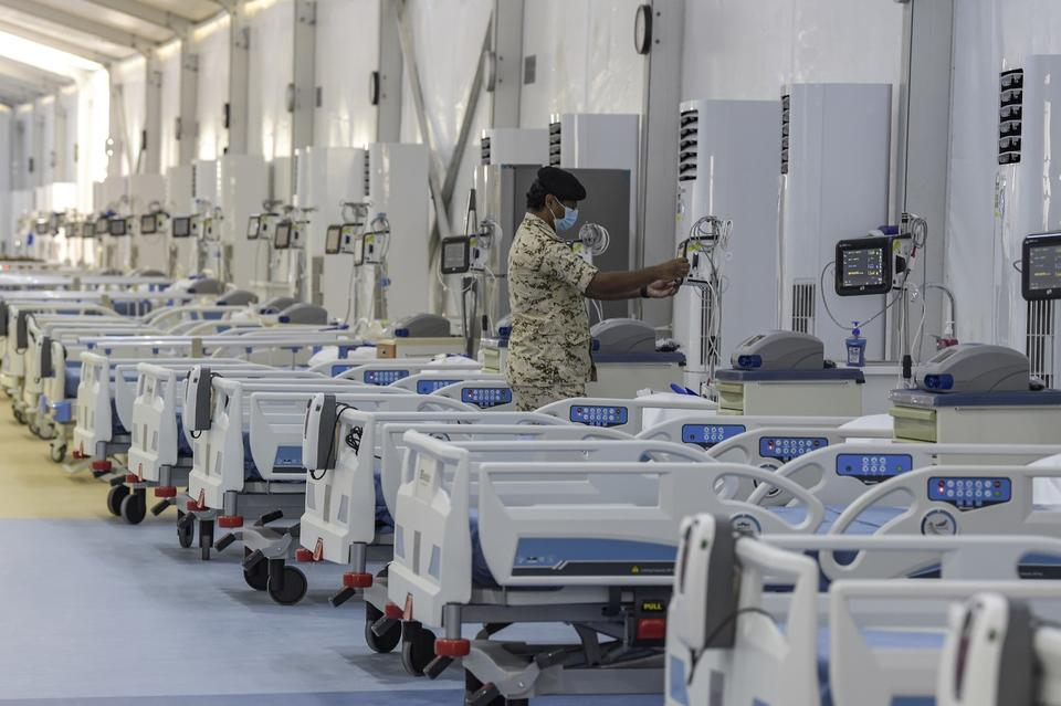 Bahrain opens up second Covid-19 field hospital