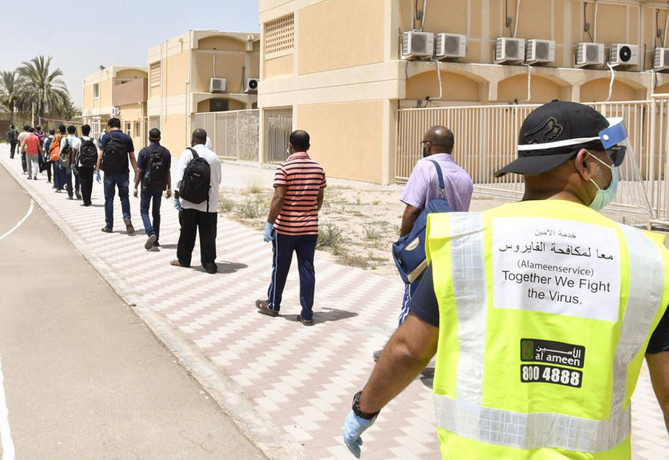 In pictures: Dubai efforts to counter Covid-19 outbreak in high-density labour camps