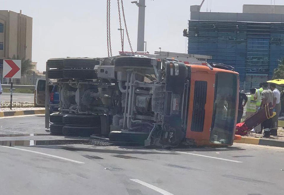 Emirati mother and child killed in Abu Dhabi road accident