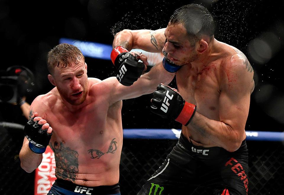 Justin Gaethje dominates Tony Ferguson in UFC's return