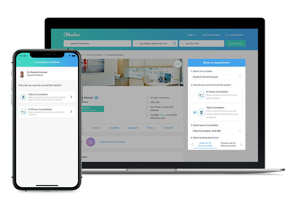 Okadoc brings telemedicine to the UAE, connecting patients to over 400 doctors