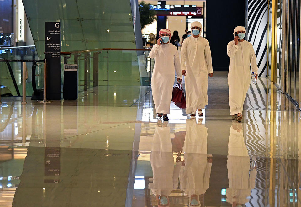 Abu Dhabi eases Covid-19 restrictions on malls, restaurants and sports activities